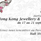 HONG KONG JEWELLERY & GEM FAIR : 17-21 Septembre 2014