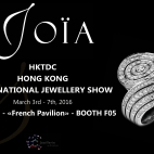 HKTDC HONG KONG INTERNATIONAL JEWELLERY SHOW : 3 - 7 MARS 2016